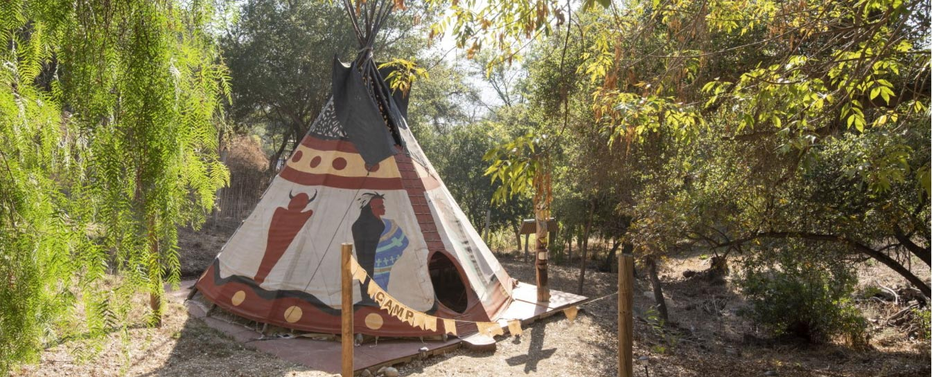 Beach Canyon Authentic Tipis