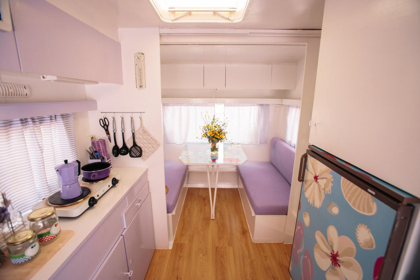 Camping miramar - Interior caravanas decoracion fotos ...
