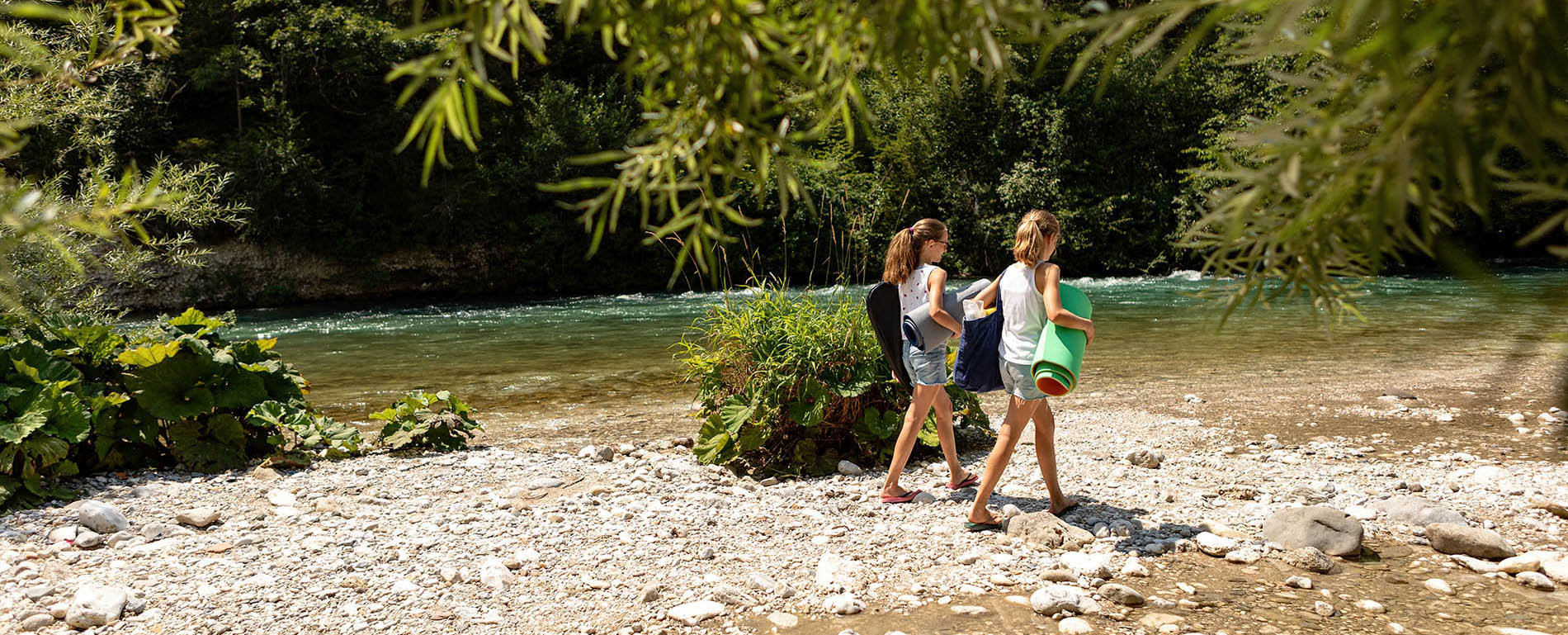 RIVER CAMPING BLED
