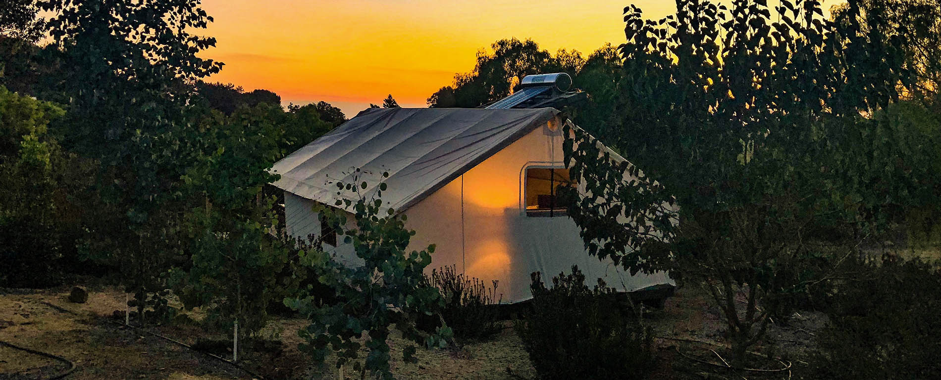 Safari Sunset Eco Glamping