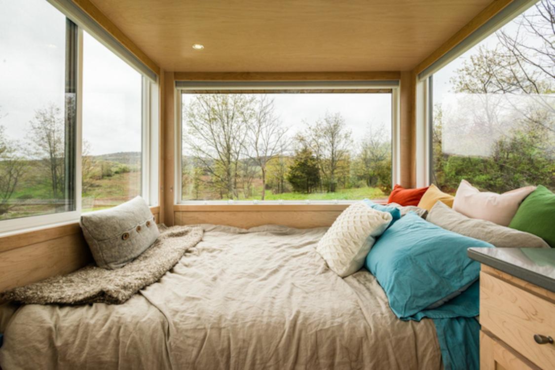 The Glass House A Hudson Valley Tiny House Retreat Glampingcom