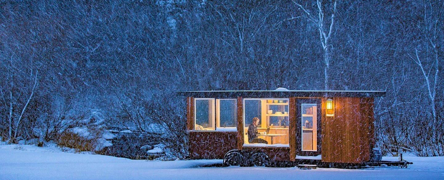 The Glass House: A Hudson Valley Tiny House Retreat