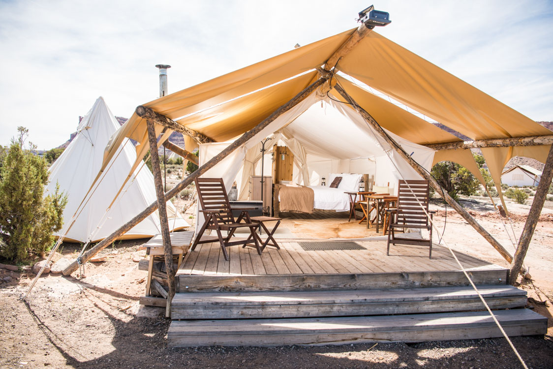 The luxurious tents offer guests the opportunity to enjoy Utahu0027s spectacular desert without giving up the comforts of home. & Under Canvas Zion | Glamping.com