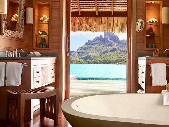 four seasons resort bora bora. Black Bedroom Furniture Sets. Home Design Ideas