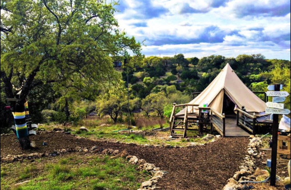 The Texas Bell Glamping Glamping Com